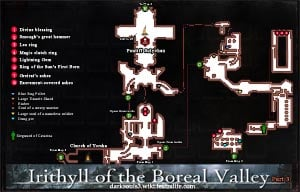 Irithyll of the Boreal Valley Map 3 DKS3