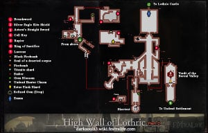 High Wall of Lothric Map 2