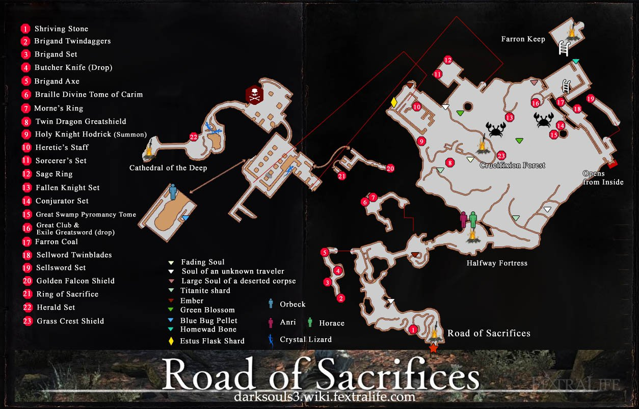 The Ringed City The Swamp Bonfire Locations